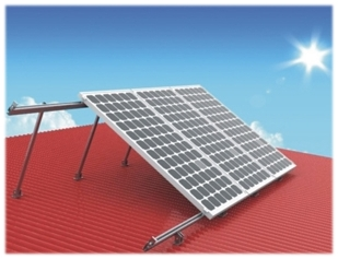 Adjustable Flat Roof Mounting System Solar Roof Mounting